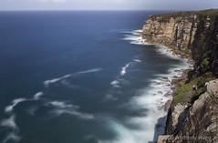 Royal NP Sutherland Shire (Tony Hugo) Tags: sea cliff water canon rocks waves sutherland royalnationalpark sutherlandshire canoneos6d