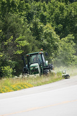 D6060_CM-13 (MoDOT Photos) Tags: green rural heavyequipment colecounty mowers centraldistrict modot safetygear bycathymorrison d6060