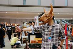 Japanese Cosplayer (Design Festa) Tags: leather japan japanese tokyo design costume cosplay handmade leatherwork tokyobigsight artfestival japanesecostume japanartfestival japanesecosplay japaneseartfestival maskleather japanesecosplayer