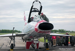 A  day with the Super Sabre Society (rsteup) Tags: fortwaynein f100fsupersabre deancuttercutshallsf100fsupersabre
