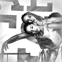 (Dom Guillochon) Tags: life dance movement women dancers arms noiretblanc stage performers humans