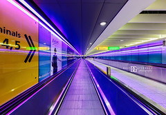 """Colour Trip"" Heathrow Airport, London, UK (davidgutierrez.co.uk) Tags: london londonphotographer architecture art interior davidgutierrezphotography city nikond810 nikon urban travel photography color uk airportterminal heathrowairport oldroyalnavalcollege building colors colour colours colourful vibrant photographer buildings england unitedkingdom  londyn    londres londra europe beautiful cityscape davidgutierrez capital structure britain greatbritain ultrawideangle afsnikkor1424mmf28ged 1424mm d810 arts landmark heathrow"