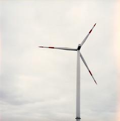 wind (somekeepsakes) Tags: 120 6x6 film analog mediumformat germany square deutschland energy europa europe wind energie lightleak analogue pushed windrad 2012 kiev88 quadratisch push1 mittelformat lichteinfall lomographycn100