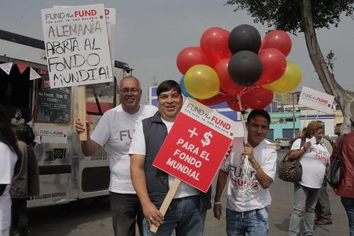 Fund the Fund Mobilizations June 13 – AHF Peru