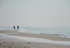 Shoes in hand (-Kj.) Tags: girls netherlands coast sand shoes dunes hike northsea schoorl northholland schoorlseduinen