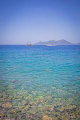 Bay at the day (aleksey_kondratiev) Tags: turkey fethiye oludeniz mediterranean sea water blue wave waves seashore rocks sky