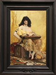 Henri Regnault - Salome 1870 (ahisgett) Tags: new york art museum met metropolitian