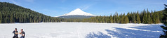 skiing around trillium lake (dolanh) Tags: winter panorama snow skiing crosscountry xcski trilliumlake mthoodwilderness