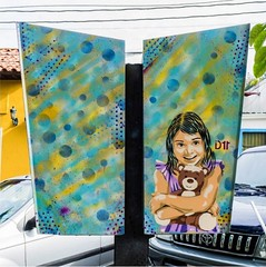 Hug (D11 Urbano) Tags: boy art girl poster stencil arte venezuela nios caracas urbano venezolano arteurbano hatillo d11 streetartvenezuela artvenezuela d11streetart arteurbanovenezuela d11art d11urbano