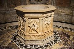 Siena - Cathedral Baptismal Font Detail (Le Monde1) Tags: city horses italy nikon cathedral unesco worldheritagesite rivers tuscany font siena stmary elsa palio pilgrims baptismal piazzadelduomo d610 arbia santamariaassunta merse viafrancigena lemonde1
