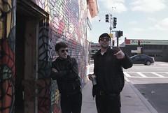 (bhkuist) Tags: street music color film boston 35mm ma photography j nikon massachusetts 14 band natura ring 1600 negative fujifilm practice nikkor fm3a ais allston plustek opticfilm jojoandtheangrygirls
