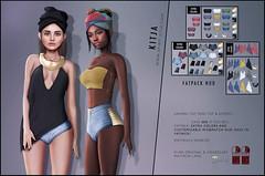 KITJA - Sahara Outfit (ᴋɪᴛᴊᴀ) Tags: