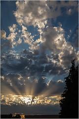 Sunset & Clouds (:: Blende 22 ::) Tags: light sunset sky sun clouds canon germany deutschland licht thringen sonnenuntergang himmel wolken thuringia sonne eichsfeld heilbadheiligenstadt canoneosd canoneos5dmarkii ef2470mmf28liiusm