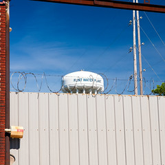 The Prison of Flint's water supply (hz536n/George Thomas) Tags: summer copyright water canon michigan politics prison canon5d nik poison flint crisis 2016 ef1740mmf4lusm cs5