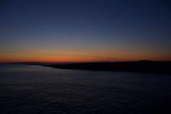 irelandsunset (andrew_falce) Tags: sun sky night sunset red orange blue water shore ireland