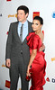 Cory Monteith, Naya Rivera 23rd Annual GLAAD Media Awards at the Marriott Marquis Hotel - New York City