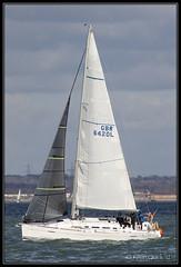 Run (GBR6420L) (leightonian) Tags: uk island boat sailing unitedkingdom yacht isleofwight solent gb isle cowes wight iow bluesail