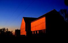 fujichrome (bluebird87) Tags: sunset film barn nikon f100 velvia dxo epson v600 50 fujichrome