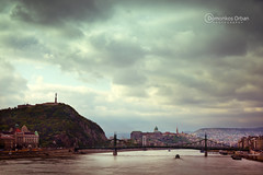 Budapest, Hungary (ODPictures Art Studio LTD - Hungary) Tags: life city bridge urban ex canon river eos dc hungary cityscape budapest sigma duna scape magyar f28 danube hd 1850 hungarian citadella 60d orbandomonkoshu