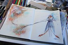 ridiculous bird (Jennifer Kraska) Tags: bird art sketch jennifer sketchbook kraska jenniferkraska