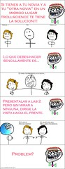 la solucion. (Meme Adictos) Tags: comics science rage problem meme ...