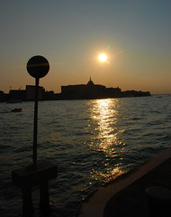 Venice - An Evening Reflection on the Molino Stucky Hilton!