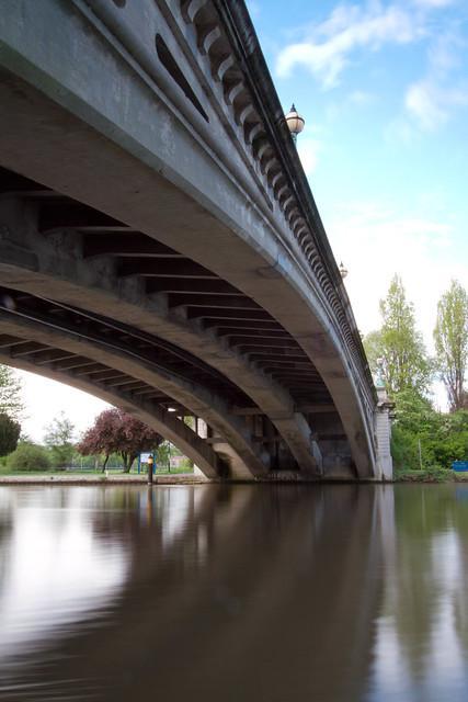 Reading Bridge on the Thames