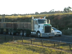 Kenworth T409SAR Quad Dog (KW BOY) Tags: new tractor truck prime model highway transport australian melbourne semi lorry rig hauling express trailer hume conventional sar mover trucking kw 2012 kenworth haulage t409 t409sar