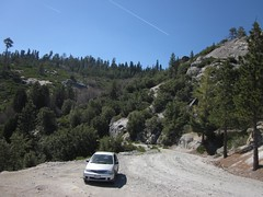 contrails centralcalifornia sierranationalforest sierranevadamountains bluehighways fresnocounty feelingzones feelway365230 2003toyotaecho