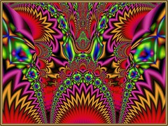Painted Dragon (bloorose-thanks 4 all the faves!!) Tags: fractal ultrafractal