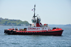 Crowley Chief (citywalker) Tags: seattle waterfront may tugboats 2012 workboats maritimefestival crowleychief