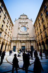 . (aubreyrose) Tags: barcelona mountains church architecture spain cathedral basilica montserrat