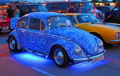 blue beetle (try...error) Tags: vienna wien light summer hot classic car vw night canon us open wide oldtimer collectible nite available scs 2012 kfer 1250 uscar 1250l