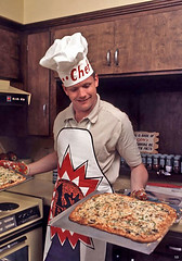 1969 ... 1st man on moon makes pizza!