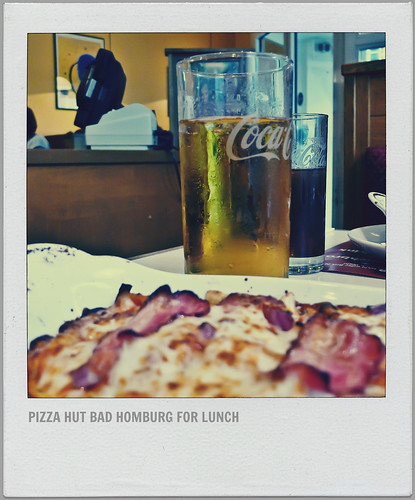 // OBSERVE // Lunch @ Pizza Hut, Bad Homburg, Germany, incl. Western Style Pasta, Refreshing Apfelschorle and Ice Tea // Enjoy //