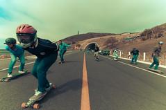 Raite Familiar (Tj Cowboy) Tags: street people sport mexico nikon skateboarding may downhill skate longboard bajacalifornia tijuana playas 2012 d90 nikond90