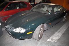 "Jaguar XK8 ""9911 ZG 30"" at Nmes (Gideon van Dijk) Tags: english car french garage parking vehicle jag british jaguar nmes xk8 jaguarxk8 9911zg30"