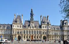 Paris : Htel de Ville / Town-hall  2/2 (Pantchoa) Tags: paris france monument nikon townhall nikkor ayuntamiento hteldeville rawfile d90 1685 afsdxnikkor1685f3556gedvr pantchoa ringexcellence