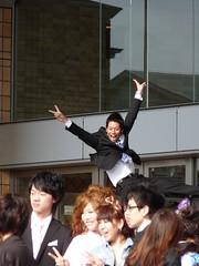 celebration (ChikinKatsu) Tags: japan  kansai  gaidai hirakata
