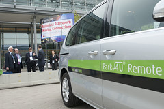 Valeo Park 4U car ready for demonstration