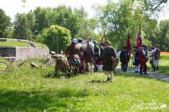 IMG_0207 (Naturally in Niagara) Tags: old war fort battle soldiers british erie reenactment bicentennial culloden 1812