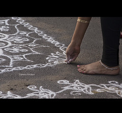 Untitled... (Camera ) Tags: street camera woman india art festival lady photography nikon chennai tamilnadu kolam mylapore d7000 kirukan