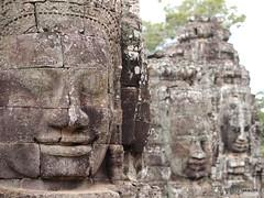 Smiles (_takau99) Tags: temple asia cambodia may angkor 2012 worldheritage bayon takau99 epl1