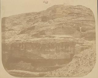 Man Near Moai (Lava Stone Effigy Figure) Still Attached To Bedrock in Quarry DEC 1886