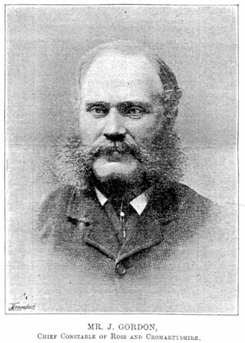 James Gordon - Chief Constable of Ross & Cromarty Constabulary from 1888 to 1898