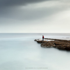 Hobbies ... (CResende) Tags: longexposure seascape motion portugal fishermen time le recreation ericeira hobbie cresende