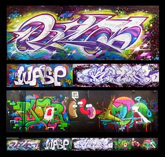 RILAS, WASP, KOYN, MOTOR and AMUSE (Gorillahs) Tags: chicago art graffiti illinois midwest wasp rila motor walls pbj 126 cdc amuse kwt rilla syw koyn