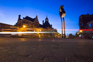 NMBS Station Turnhout / Long Exposure / Belgium