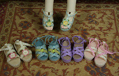 Dollstown 5 Year (Kim Zentner) Tags: pink shoes doll handmade tessa grapefruit bjd kaye wiggs pinkgrapefruit dollshoes dollstown dollshe iplehouse kayewiggs bjddollshoes