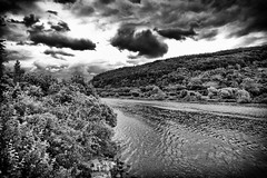 Rainy Day - 156/365 (Vlachbild) Tags: sonyslta65 walimex14mmf28 2012inphotos blackwhite daily europe germany landscape moselle oneaday pfalzel photoaday pictureaday project365 project36504june2012 project365156 rhinelandpalatinate silverefx trier